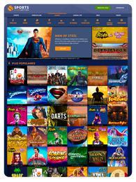 sports interaction jeux casino en ligne